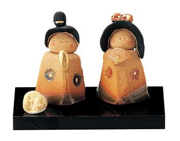 <title>ひな人形 陶器 可愛い 小さい より もっと小さい 雛人形 コンパクト 古代織部立雛 信頼 ミニチュア 初節句 お雛様 おひな様 雛飾り</title>