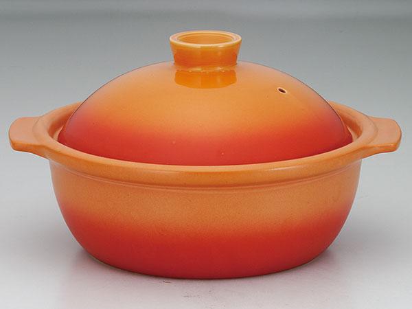 ポトフ 9号鍋 ベイクオレンジ