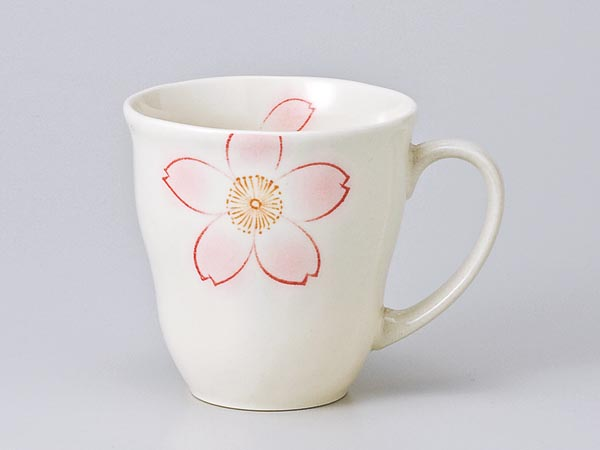 マグカップ おしゃれ 恋桜 売れ筋ランキング 高品質新品 軽マグ ピンク 業務用 コーヒー 家庭用 プレゼント ギフト 贈り物 カフェ