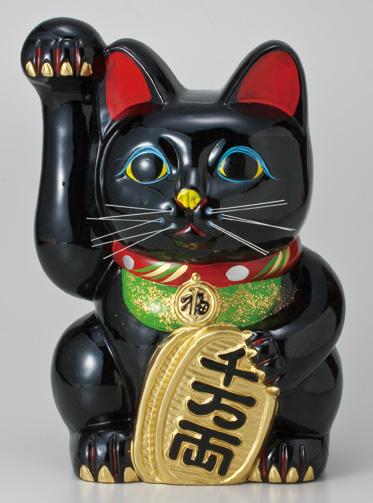 黒手長小判猫10号 右手