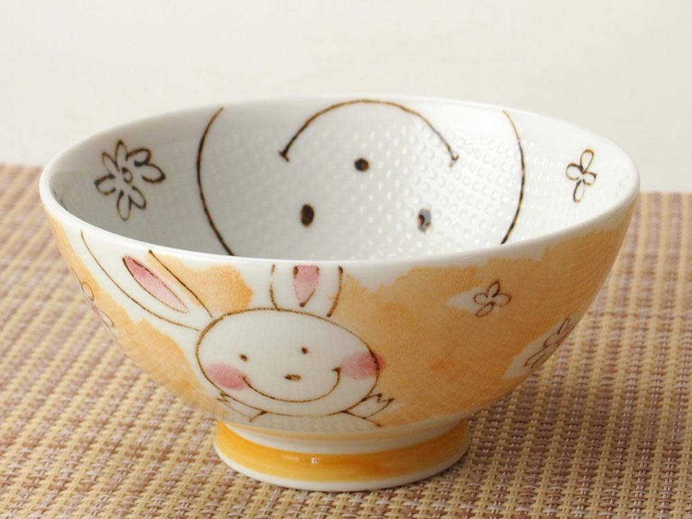つぶつぶお茶碗 / ごはんがつきにくい茶碗 うさぎ茶碗 小平 /和食器