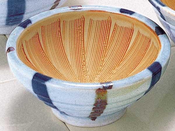 離乳食や、つみれ鍋、すりごま作りに ごま 納豆 味噌/ 十草 スリ鉢(S) /陶器 卓上小物 テーブルウェア