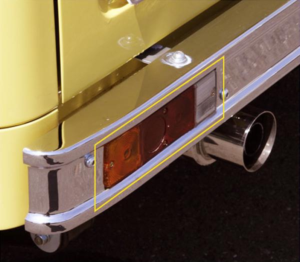 【10%offクーポン】ジムニー バンパー エクステリア ブロンコ風リアバンパー用 リアコンビネーションランプ 左右セット アピオ APIO