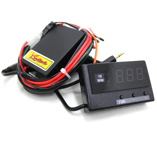 ジムニー メーター 計器 Run Max セパレート電動ファンマルチコントロールキット SJ10 SJ30 SJ40 JA71 JA11 JB31 JA12 JA22 JB32 JB23 JB33 JB43