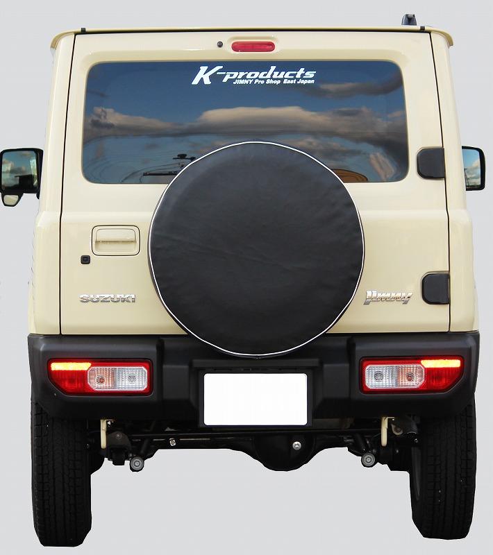 ジムニー汎用スペアタイヤカバー黒無地アクセサリSJ10JA11JA71JA12JA22JB23JB33JB43JB64