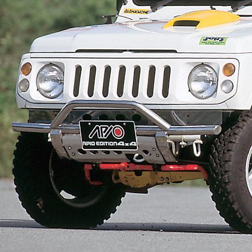 ジムニー バンパー エクステリア しし狩りバンパー タイプ3 SJ30 SJ40 JA 系 JB32 JB31 アピオ APIO