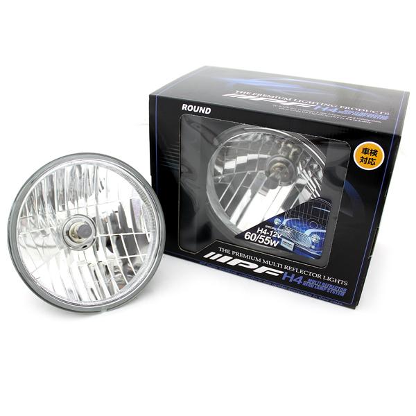ジムニー ライト 丸型マルチヘッドランプ 2個セット ポジションランプ無 IPF製