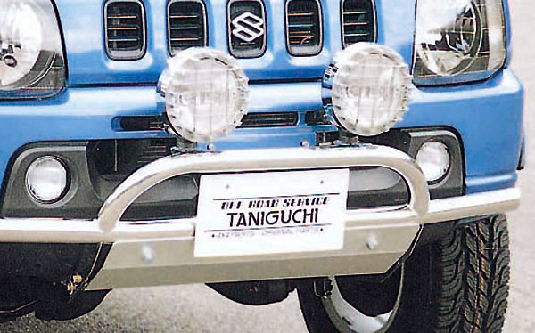 ジムニー エクステリア フロントバンパーランプステー専用スキッドプレート JB23 タニグチ TANIGUCHI