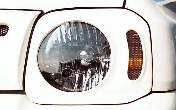 ジムニー ライト FRP ヘッドライトカバー JB23 タニグチ TANIGUCHI