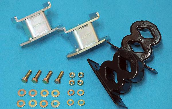ジムニー サスペンション バウンドレートブースター リア 8の字バンプ付き JB23/JB33/JB43 タニグチ TANIGUCHI