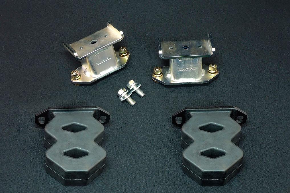 ジムニー サスペンション バウンドレートブースター リア 8の字バンプ付き 左右セット 大容量タイプ JB64 JB74 タニグチ TANIGUCHI