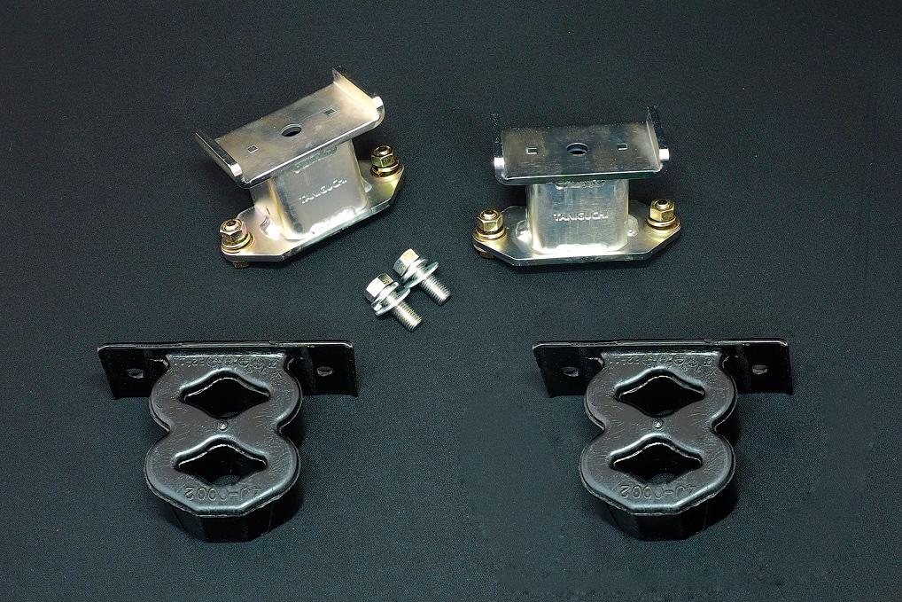 ジムニー サスペンション バウンドレートブースター リア 8の字バンプ付き 左右セット 標準タイプ JB64 JB74 タニグチ TANIGUCHI
