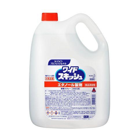 【1ケース】花王 ワイドスキッシュ 詰替 4.5L×3本