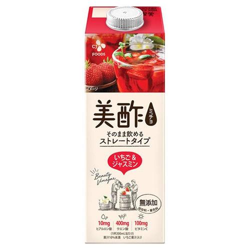 美酢 ミチョ 買取 950ml×12本 いちごジャスミン 代引き不可