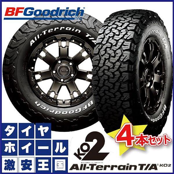 【4本セット】 215/70R16 100/97R BF Goodrich All-Terrain T/A KO2 bfグッドリッチ オールテレーン ホワイトレター 16インチ サマータイヤ