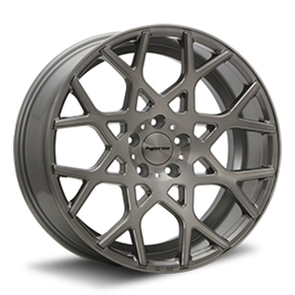 価格 新品 サマータイヤホイール 4本セット 245 40R19インチ5H114.3 MLJ サマータイヤホイールセット チタンブラッシュウィンラン 買収 R330送料無料 ハイペリオン CVZ