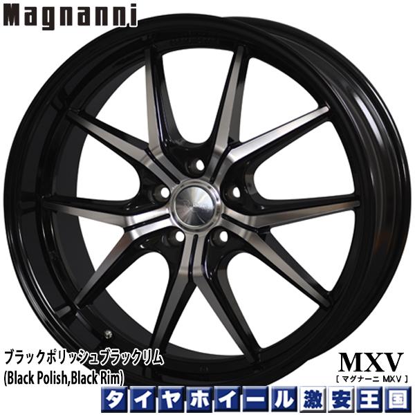 【送料無料 レクサスLS用】 245/40R20 WINRUN ウィンラン R330 マグナーニ Magnanni MXV ブラックポリッシュ・ブラックリム 8.5J-20インチ 新品 サマータイヤ ホイール4本セット