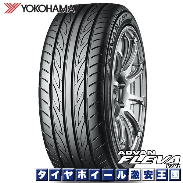 【取付対象】 送料無料 4本セット 225/40R18 ヨコハマ アドバン フレバ YOKOHAMA ADVAN FLEVA V701 18インチ 新品サマータイヤ