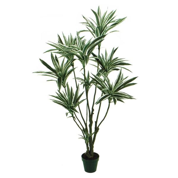 人工観葉植物 ドラセナ 高さ150cm fg25650 (代引き不可) インテリアグリーン 造花