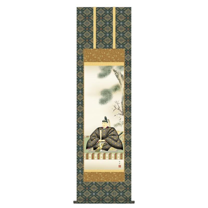 掛軸 慶事飾り[慶祝画] 【天神】 [尺三] [長江桂舟] [KZ2MC4-034](代引き不可)