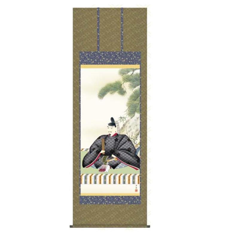 掛軸 【天神】 [小野洋舟] 尺八 [T1C4-043]【代引き不可】
