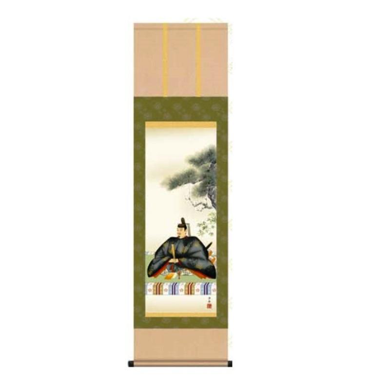 掛軸 【天神】 [小野洋舟] 尺三 [T1MC4-036]【代引き不可】