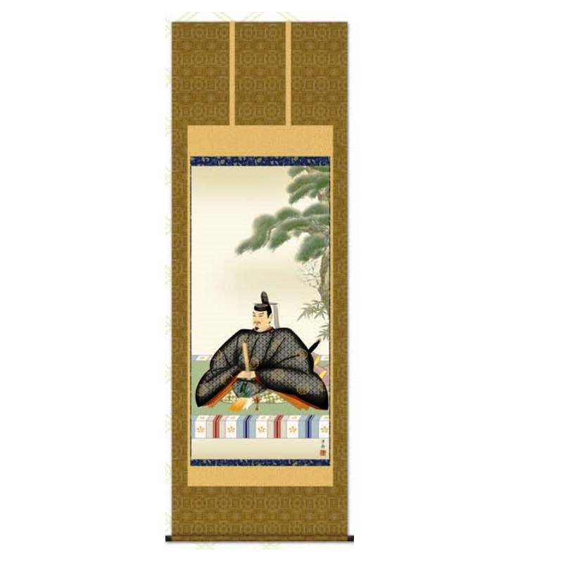 掛軸 【天神】 [小野洋舟] 尺八 [T2C4-049]【代引き不可】