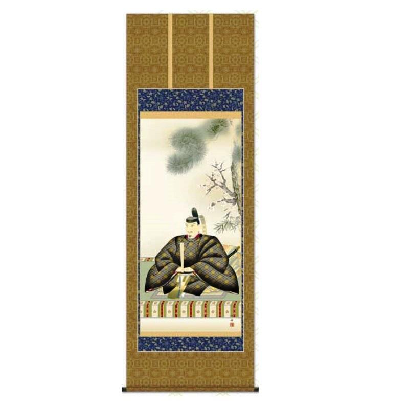 掛軸 【天神】 [長江桂舟] 尺八 [T2C4-055]【代引き不可】