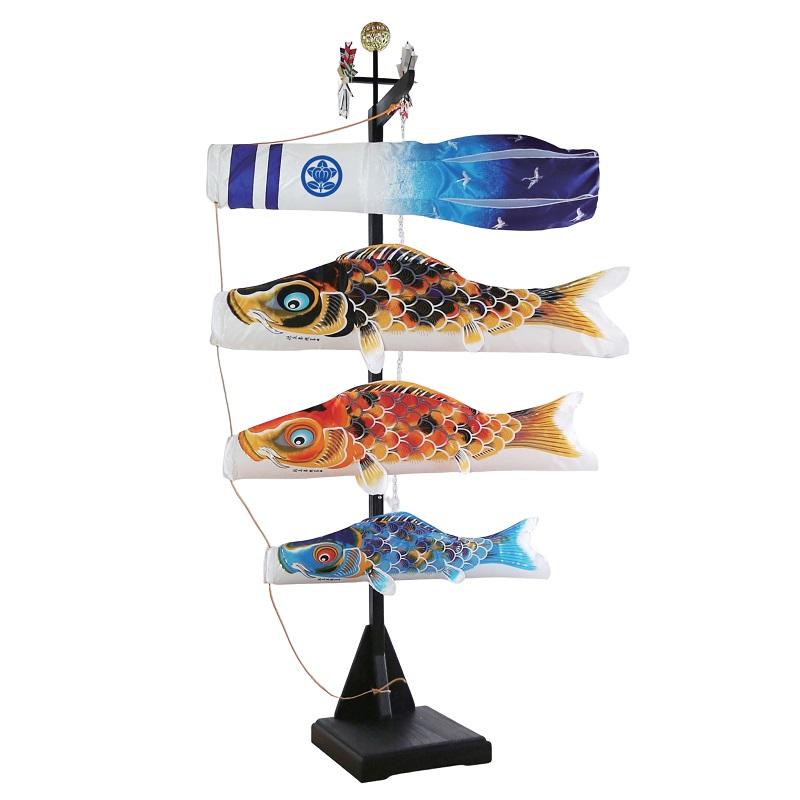 今季ブランド [徳永][鯉のぼり]室内用[室内飾り鯉のぼり][1m鯉3匹][京錦][京鶴吹流し][日本の伝統文化][こいのぼり], 華道具専門店はなかざり:8f160049 --- canoncity.azurewebsites.net