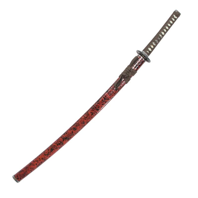 模造刀 雲シリーズ 茶雲 大刀 竜刀身 刀袋付[neu075l]日本刀 美術刀剣 おもちゃ 通販(代引き不可)