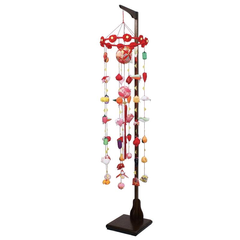吊るし飾り まり飾り [大] 吊り台付 [ 高さ 約172~212cm ] 雛人形