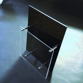 アクリルA4三折りカタログラック 業界No.1 パンフ立て POP用品 最安値に挑戦