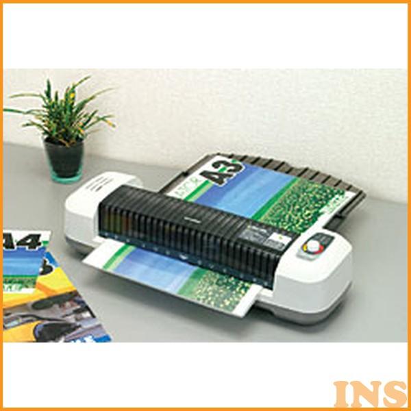 ラミネーター LFA341D オフィス オフィス用品 A3サイズ・150ミクロンフィルム対応ラミネーター ラミネート パウチ 本体 ラミネーター OA機器 写真 コンパクト シンプル 診察券 名刺 メニュー表 スリム 簡単操作 グレー