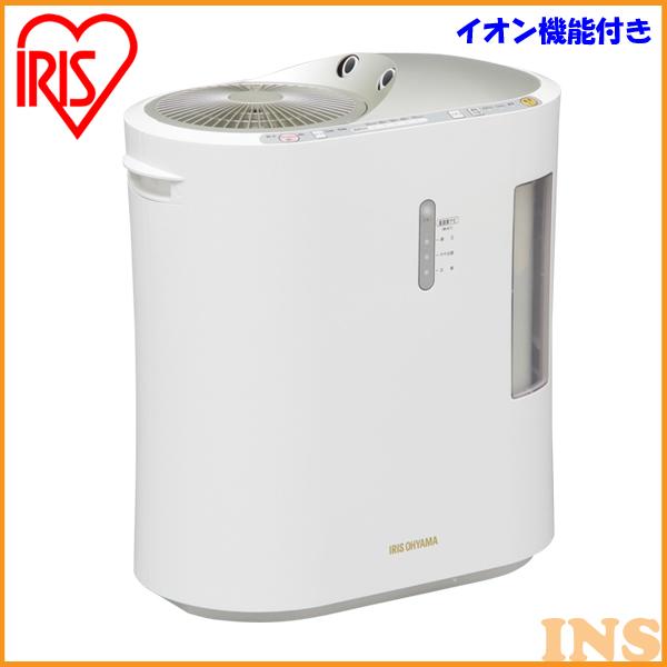 加湿器 大容量 ハイブリッド式 加熱式 超音波式 強力ハイブリッド加湿器 1500ml SPK-1500Z-N イオン付 アイリスオーヤマ