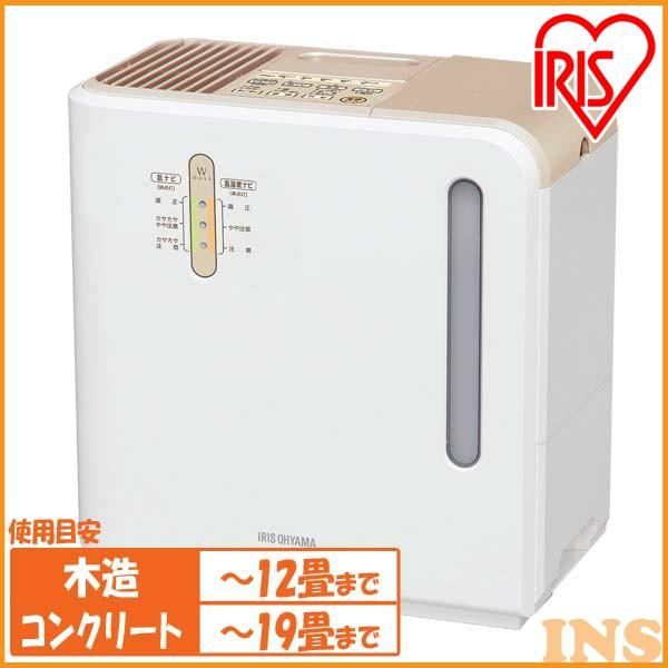 《》アイリスオーヤマ 気化ハイブリット加湿器 700ml ARK-700Z-N ゴールド (イオン付)あす楽