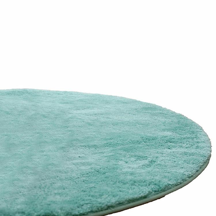 【カーペット ラグ】EXマイクロファイバー洗えるラグマット (直径200cm)【洗える 円形 おしゃれ】 46096805・全20色【TD】【B】【ND】【代引不可】≪送料無料≫