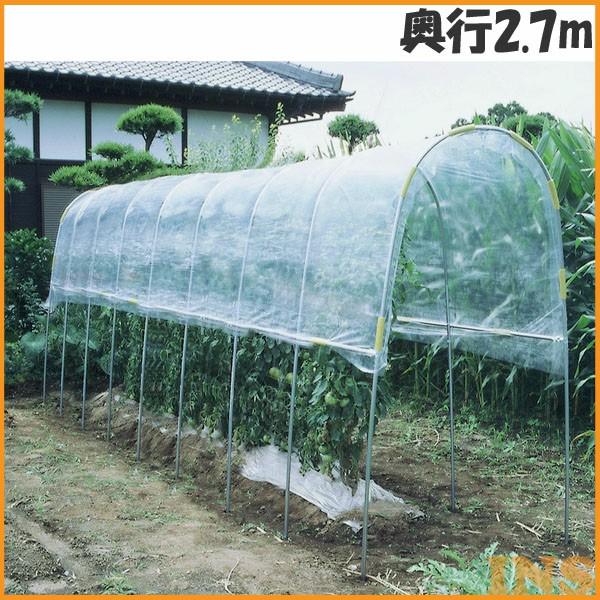 ≪送料無料≫雨よけハウス 奥行2.7m J-12【TD】
