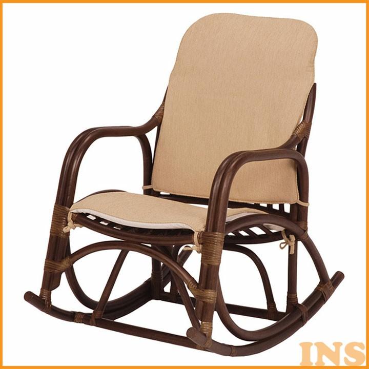 ≪送料無料≫【チェアー】ロッキングチェアー 新生活【椅子 イス】 RRC-865DBR【TD】【代引不可】 一人