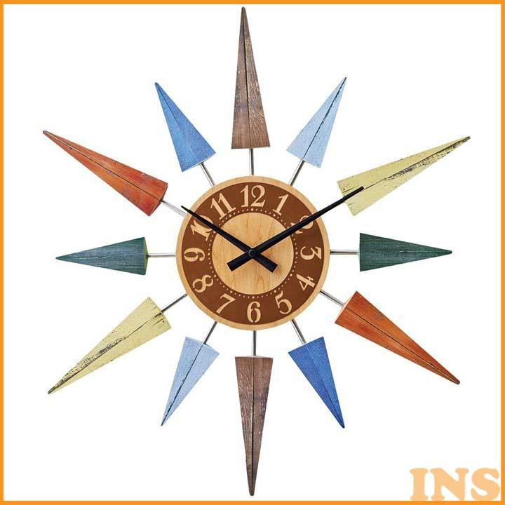 ≪送料無料≫【時計 掛け時計】【B】ウォールクロック L'EST bunt【掛時計 壁掛け 壁時計 ウォールクロック 壁掛け時計】 CL-8408【TC】