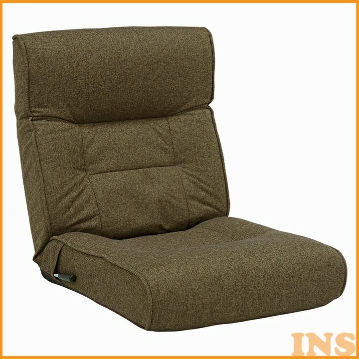 座椅子 ブラウン LZ-4128BR 送料無料 椅子 いす イス おしゃれ 椅子イス 椅子おしゃれ いすイス イス椅子 おしゃれ椅子 イスいす 萩原 【D】