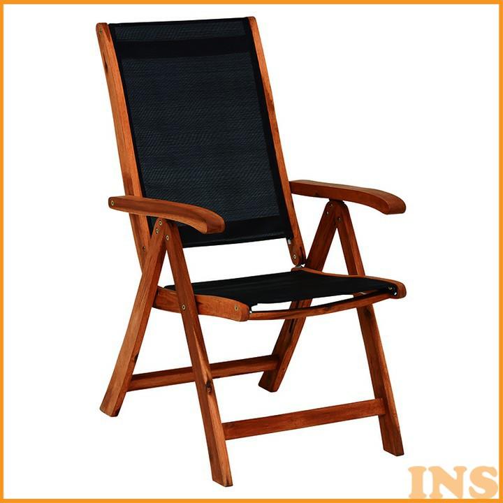 リクライニングチェア ブラック VGC-7355BK 送料無料 椅子 いす イス 折りたたみ 椅子イス 椅子折りたたみ いすイス イス椅子 折りたたみ椅子 イスいす 新生活【D】 一人