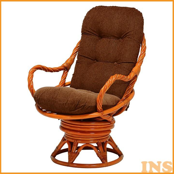 回転座椅子 RZ-911 送料無料 座椅子 椅子 イス いす 籐製 ラタン おしゃれ 座椅子いす 座椅子おしゃれ 椅子いす いす座椅子 おしゃれ座椅子 いす椅子 萩原 【TD】 【代引不可】