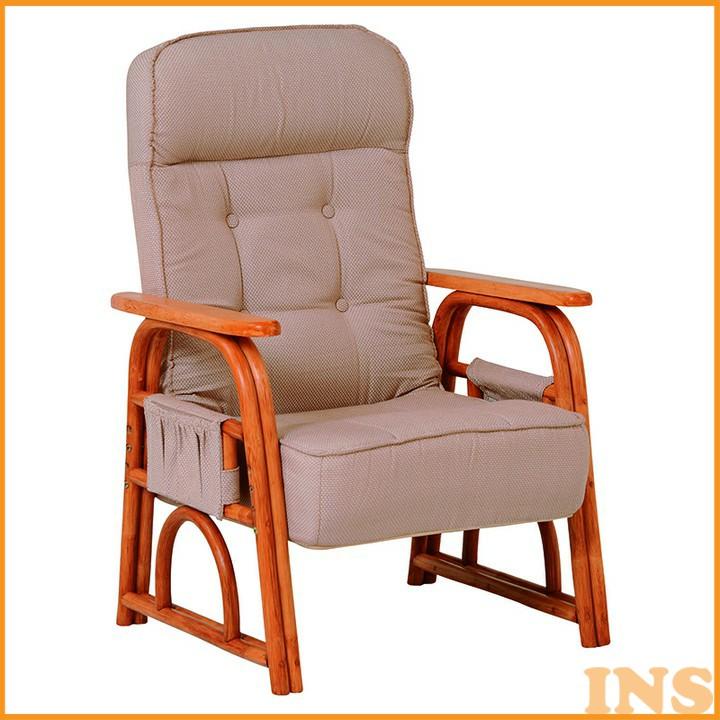 ギア付き座椅子 ナチュラル RZ-1255NA 送料無料 座椅子 椅子 イス いす 籐製 ラタン おしゃれ 座椅子いす 座椅子おしゃれ 椅子いす いす座椅子 おしゃれ座椅子 いす椅子 萩原 【TD】 【代引不可】