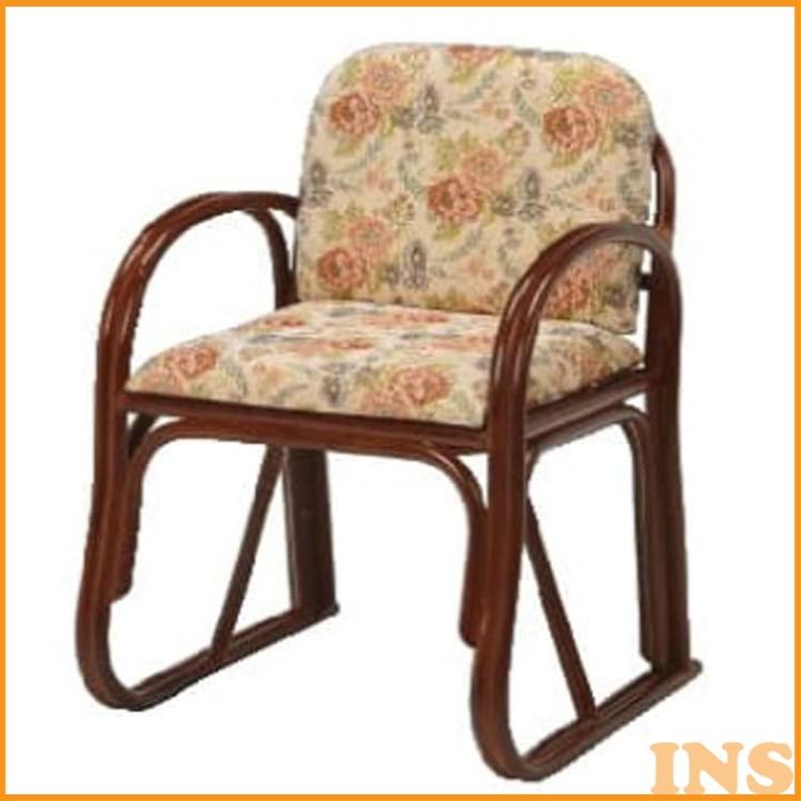 楽々座椅子 RZ-739H 送料無料 座椅子 椅子 イス いす 籐製 ラタン おしゃれ 座椅子いす 座椅子おしゃれ 椅子いす いす座椅子 おしゃれ座椅子 いす椅子 萩原 【TD】 【代引不可】
