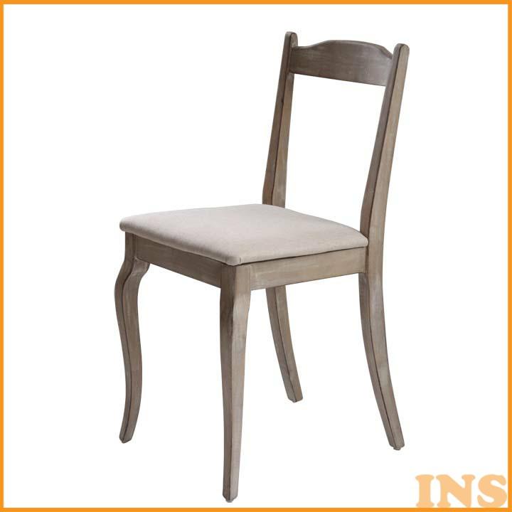 シャビーシックデスクチェア ホワイト SSLCHR 送料無料 椅子 イス チェア おしゃれ 【TD】 【代引不可】
