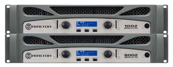 AMCRON XTi6002 パワーアンプ 2100W+2100W(4Ω)