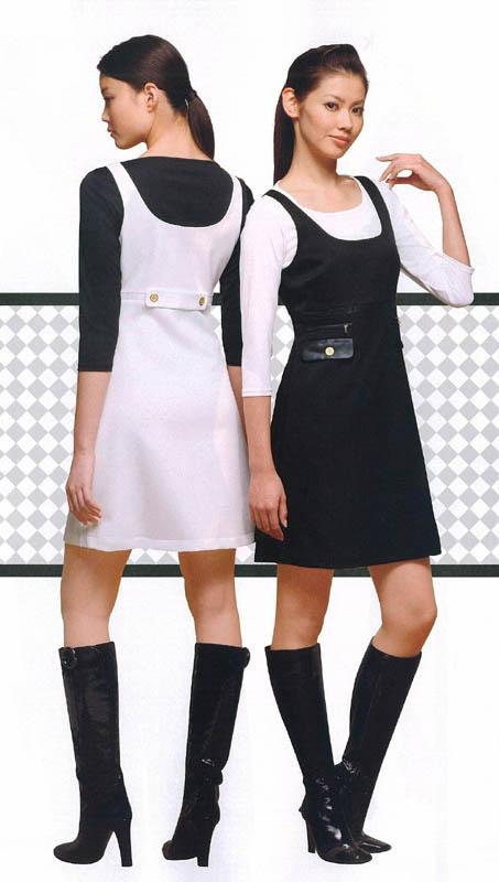 スカート レディースアミューズメント パチンコ店女性用 スカート上品なジャンパースカート