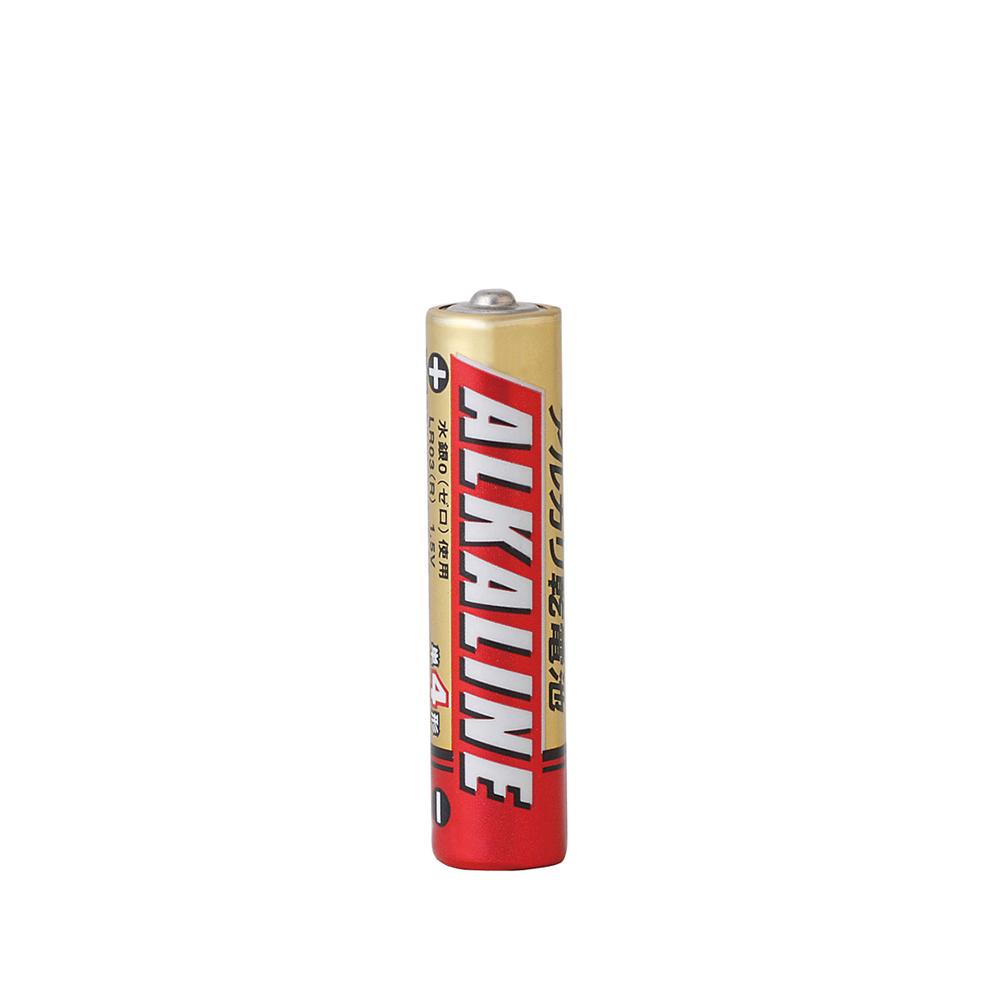 G-best(警備用品)【LR03R4S】アルカリ乾電池 単4400本セット
