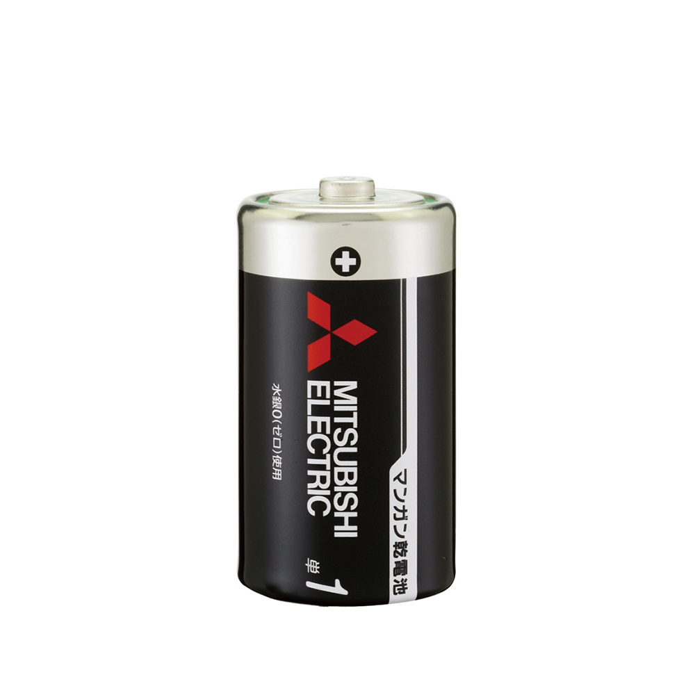 G-best(警備用品)【R20PU2S】マンガン乾電池 単1 黒200本セット