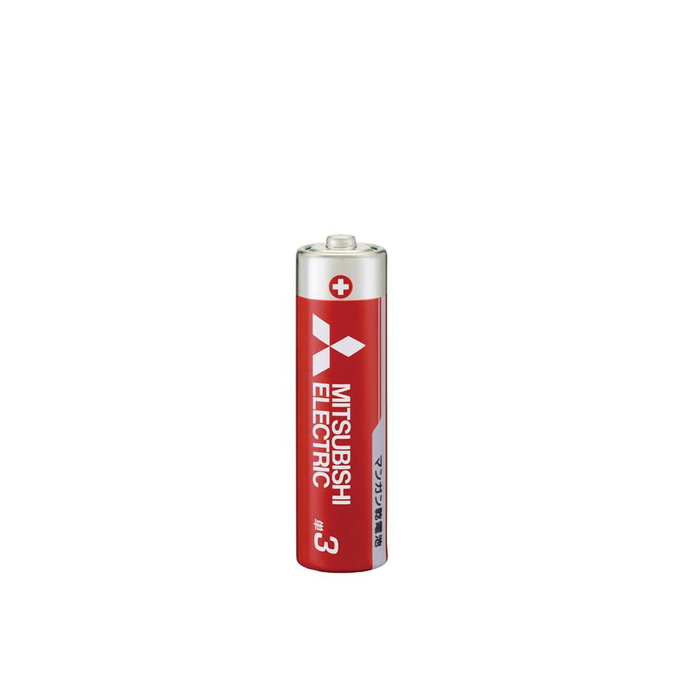 G-best(警備用品)【R6P4S】マンガン乾電池 単3 赤400本セット